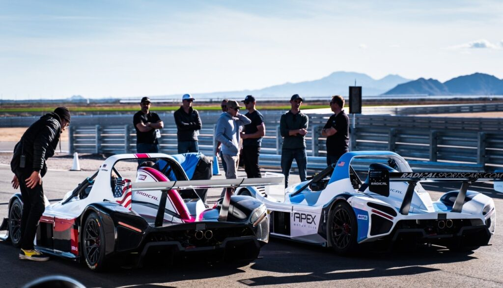 Apex Club Racing Track Cars