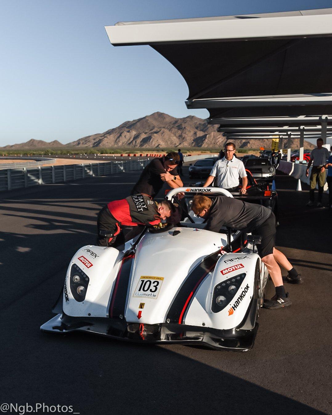 Apex Car Club Racing Pit Crew