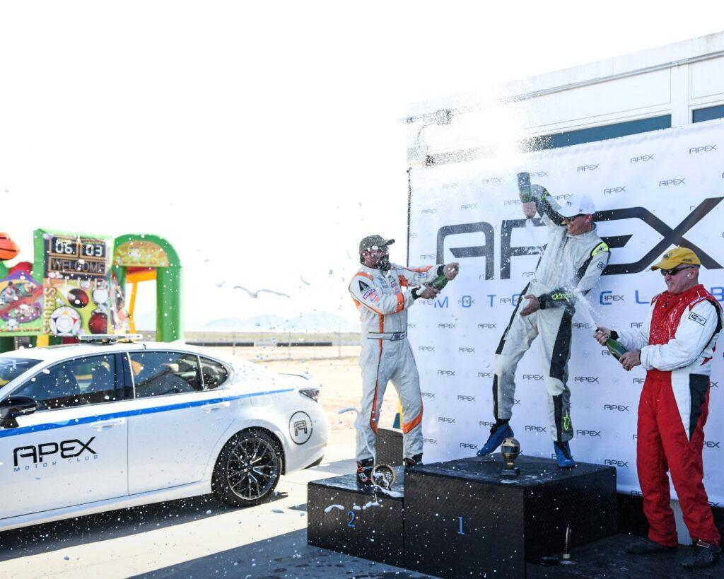APEX Race Winners Event Celebration