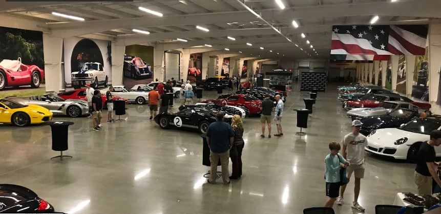 Vintage Automobile Colloctor Storage Area