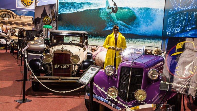 Dezer Car Collection Inside Museum