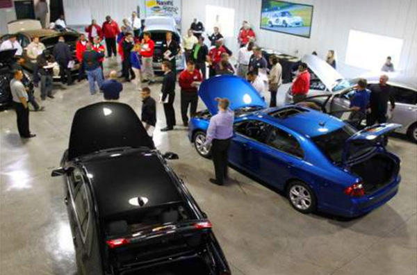 Garage Party With Club Members and Guest