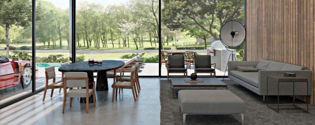 MSR Houston Villa Inside View