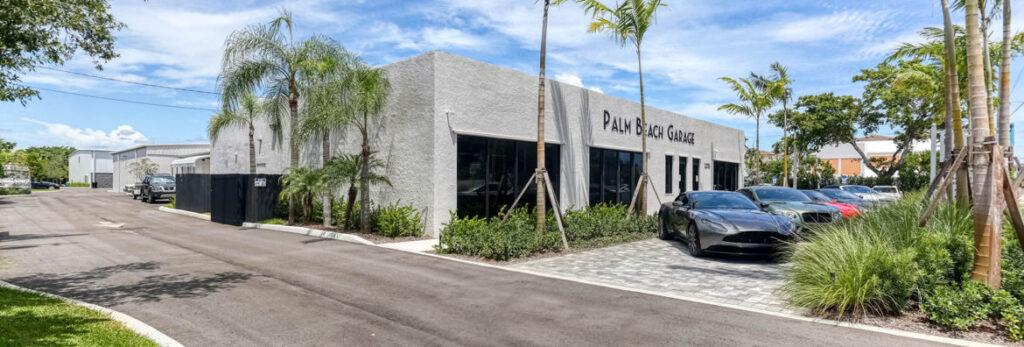 Palm Beach Garage outside building