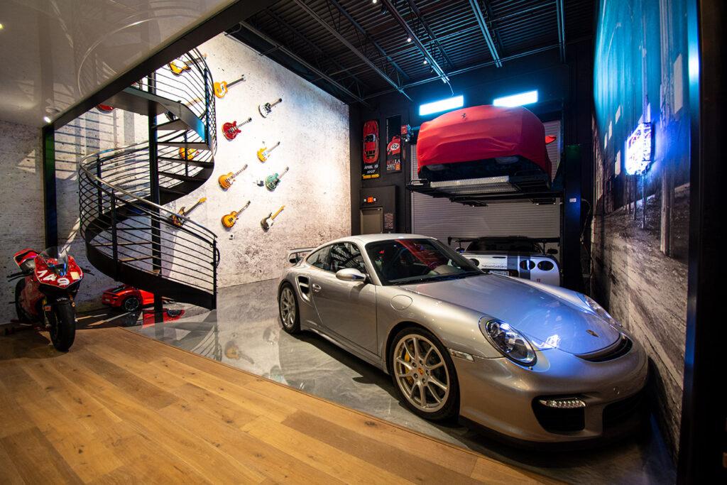 Customize condo car storage garage
