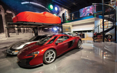 The Hanger® Luxury Car Club Condo Is More Like A Playground For Car Enthusiast