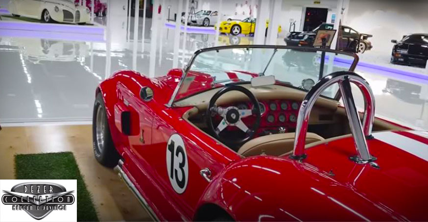 The Dezer Car Collection Museum in Miami