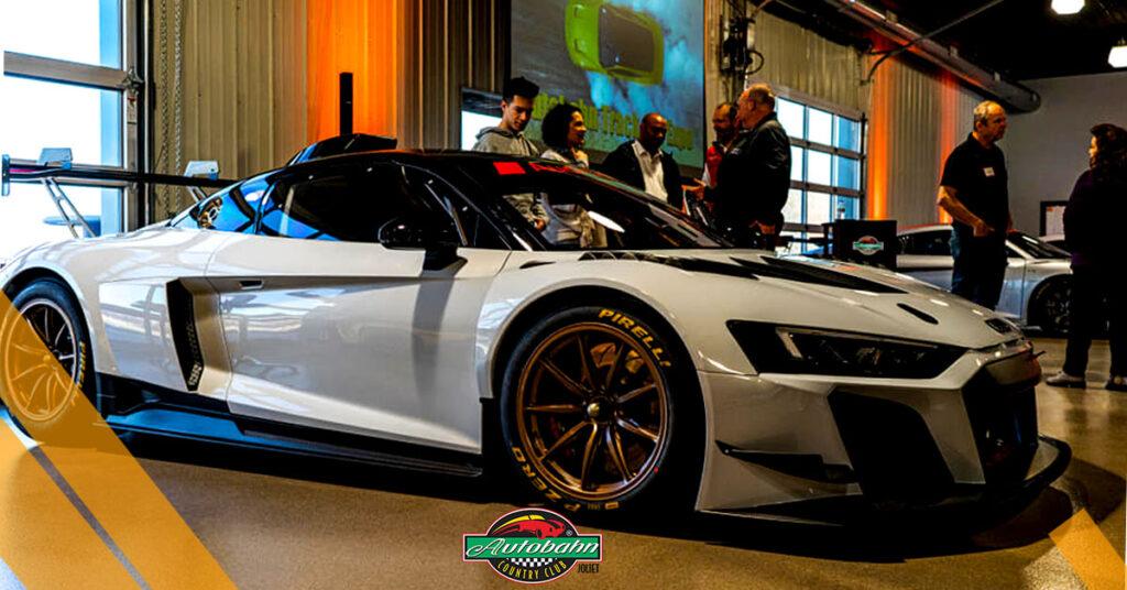 Autobahn Country Club Inside Race Car