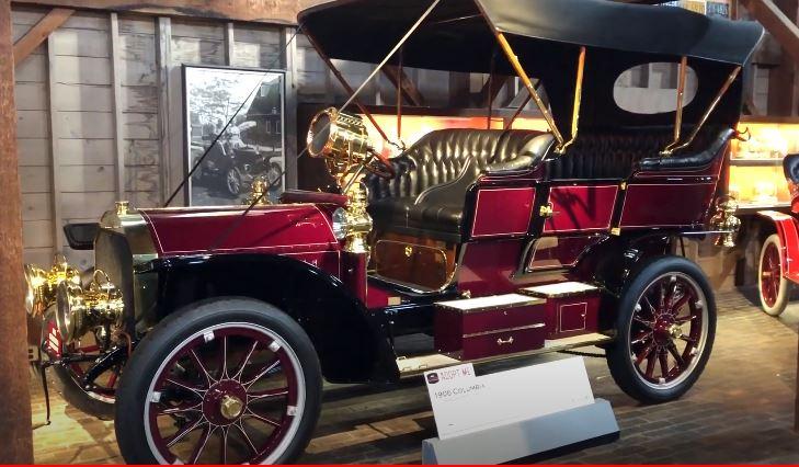Vintage 1906 Columbia Automobile