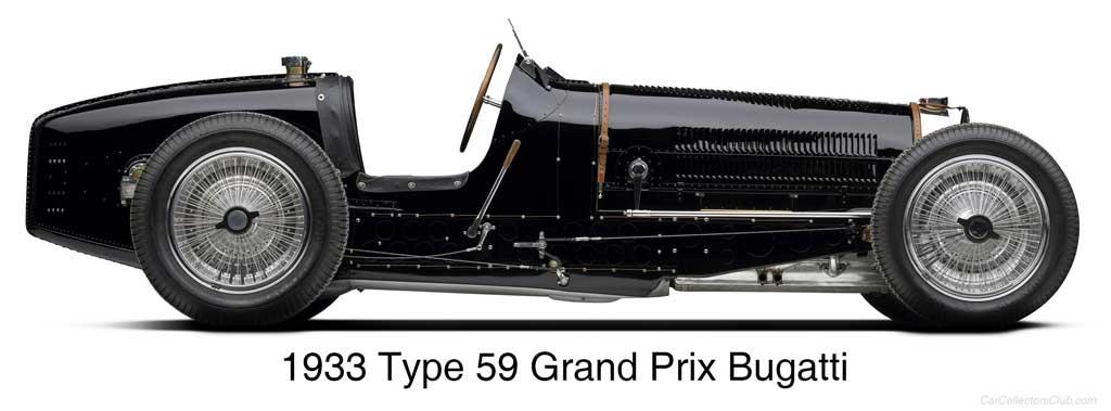 1933 Type 59 Grand Prix Bugatti