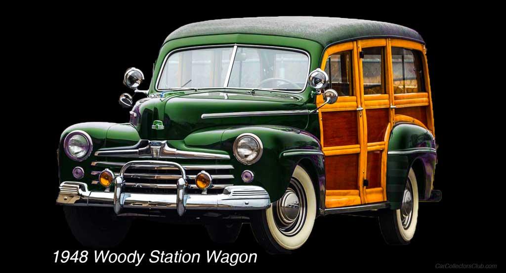 1948 Woody Station Wagon