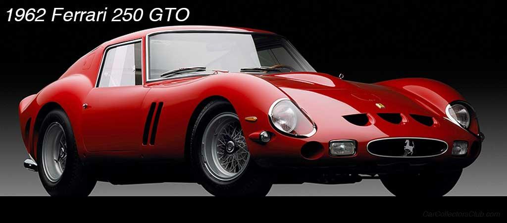 car 1962 Ferrari 250 GTO