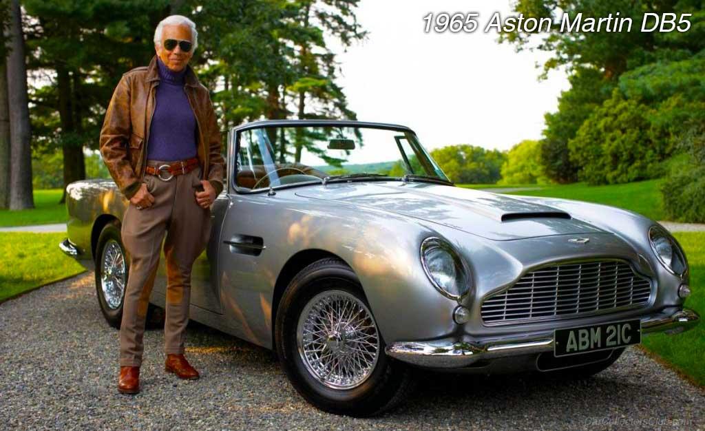 car 1965 Aston Martin DB5