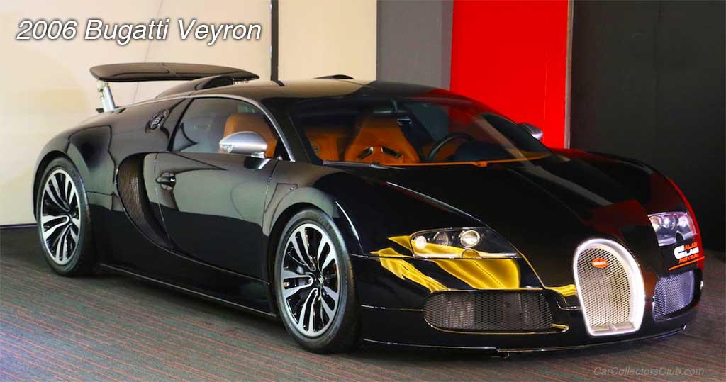 car 2006 Bugatti Veyron