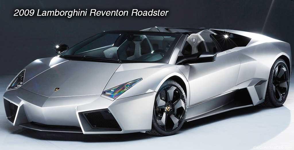 car 2009 Lamborghini Reventon Roadster