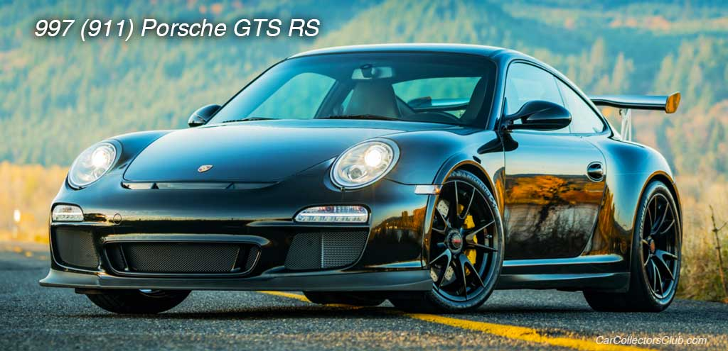 car 911 Porsche GTS RS