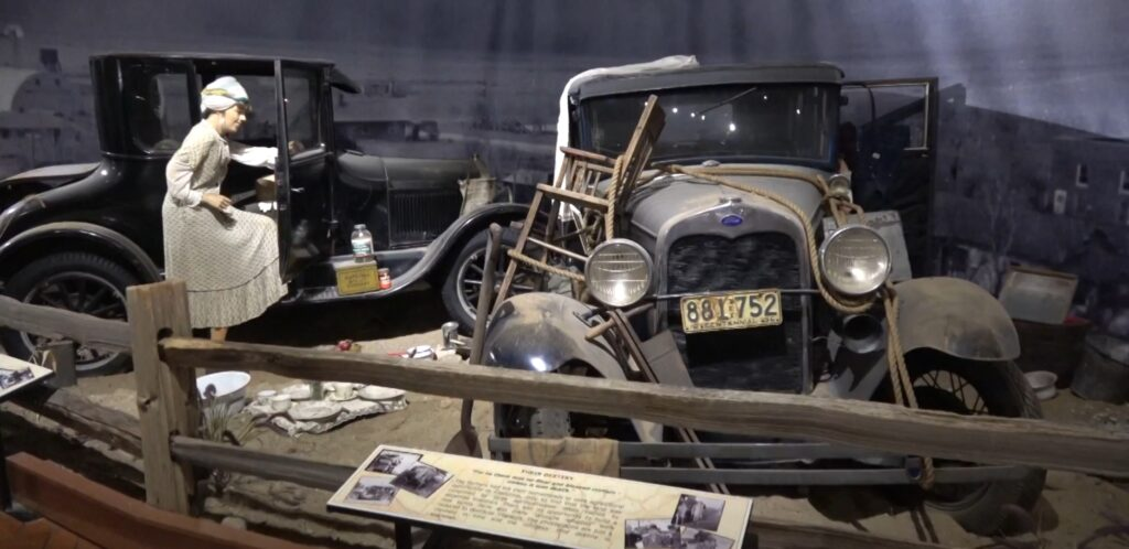 Collection on 1930s depression cars