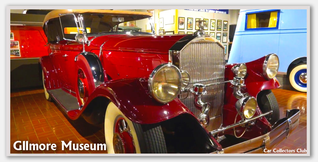 Gilmore Museum List Of-Cars