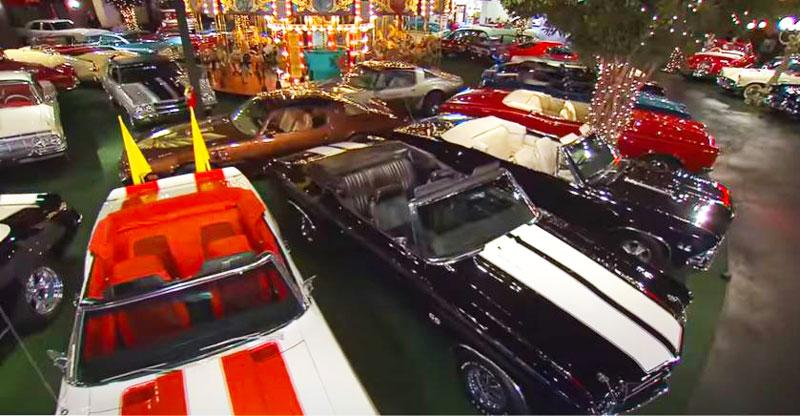 Cars in Museum Museum