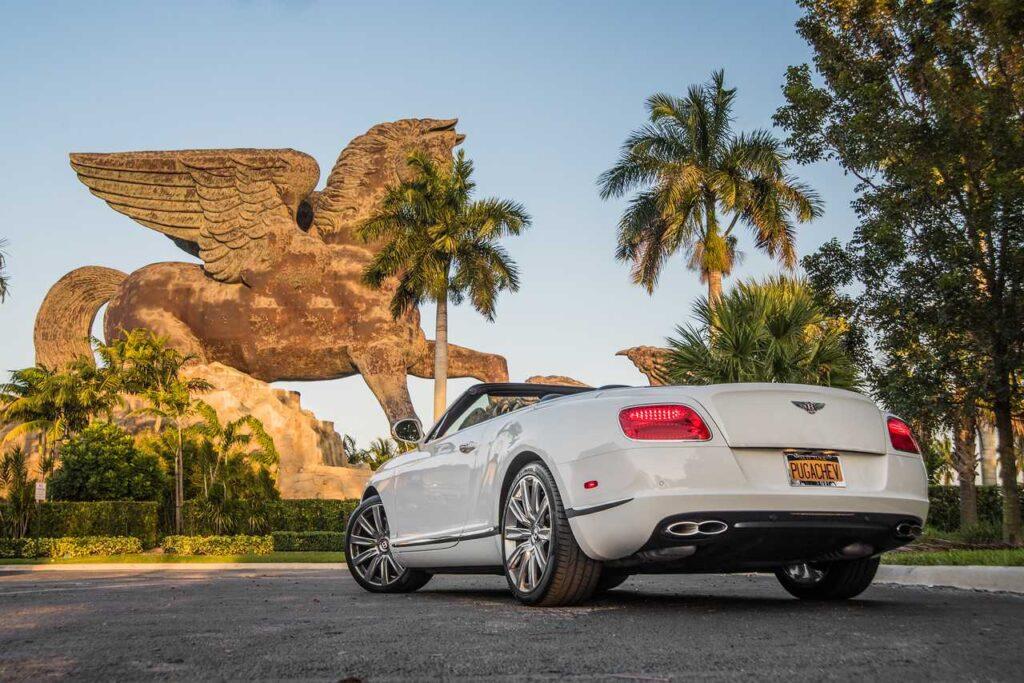 Rental Car - Bentley Continental GT