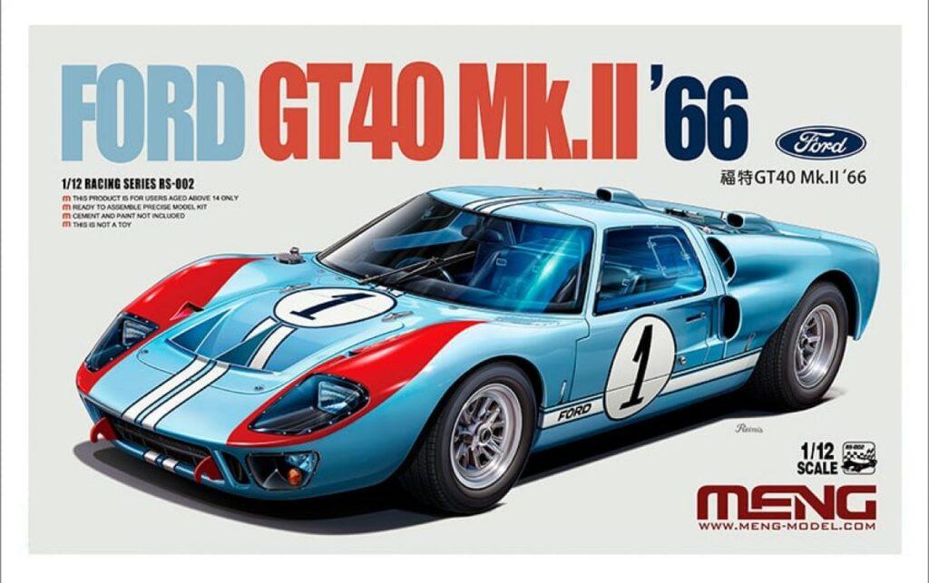Rare Ford Ferrari GT40