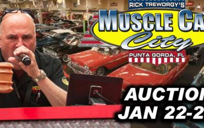Muscle Car City 200 Vehicle Auction (JAN 22-23) Punta Gorda Florida
