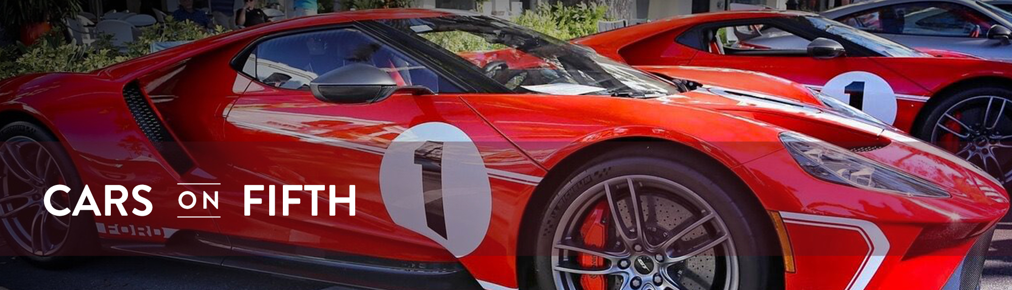 Ford GT40 at Car Show