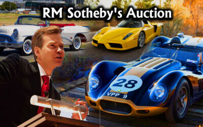 RM Sotheby's Auto Auction of 80 Blue-Chip Vintage Motor Cars | JANUARY 22, 2021