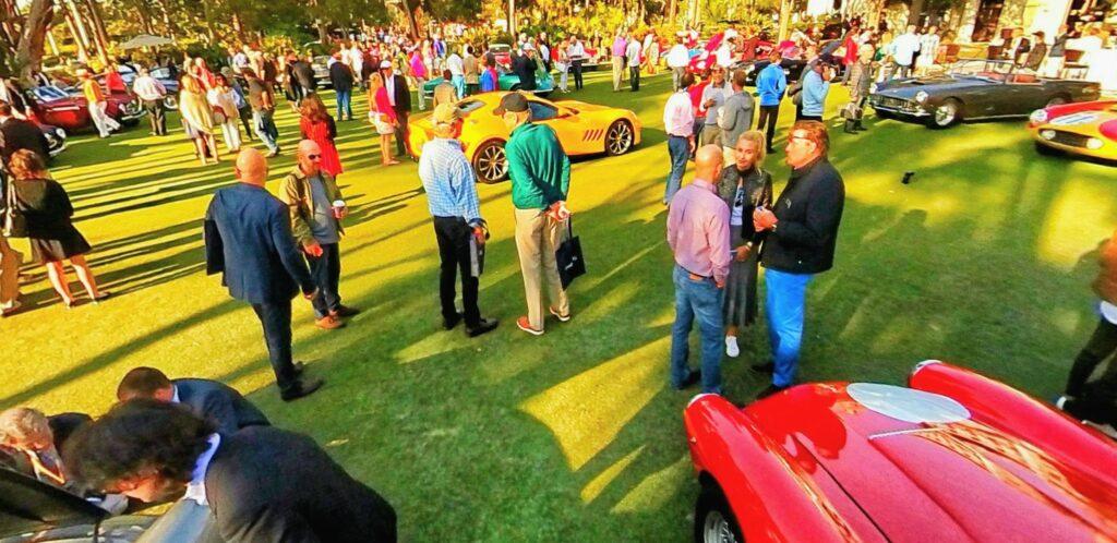 """Ferrari Cavallino Concours d""""Elegance Car Show"""