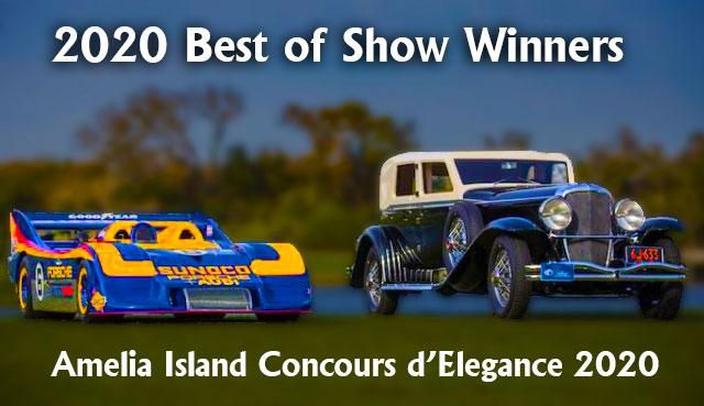 Two Cars The Amelia Island Concours 2020 Award Winners