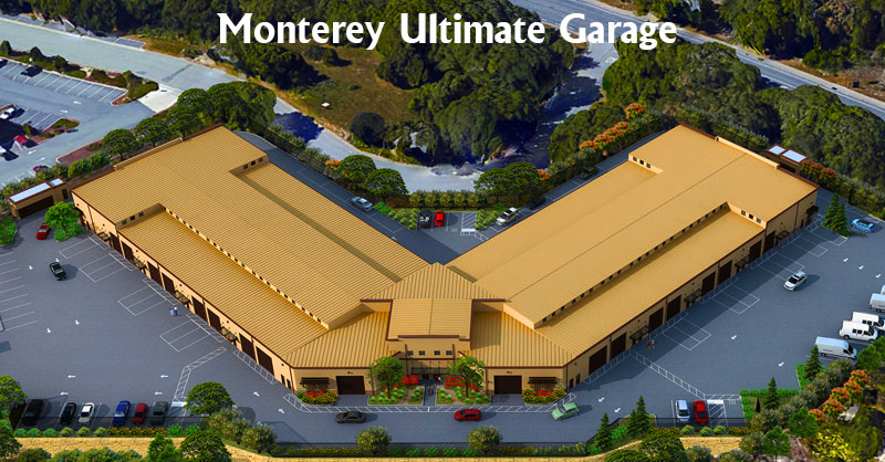 Aerial view of the Monterey Club