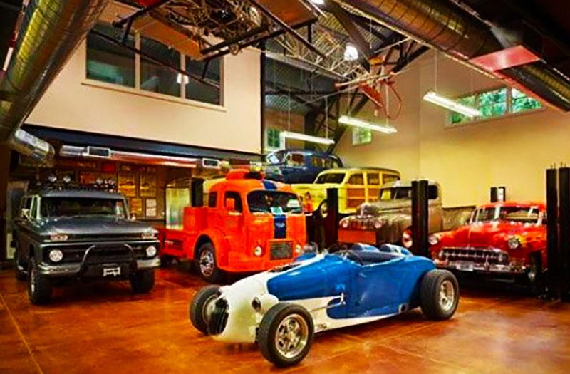 Cars in Private Garage