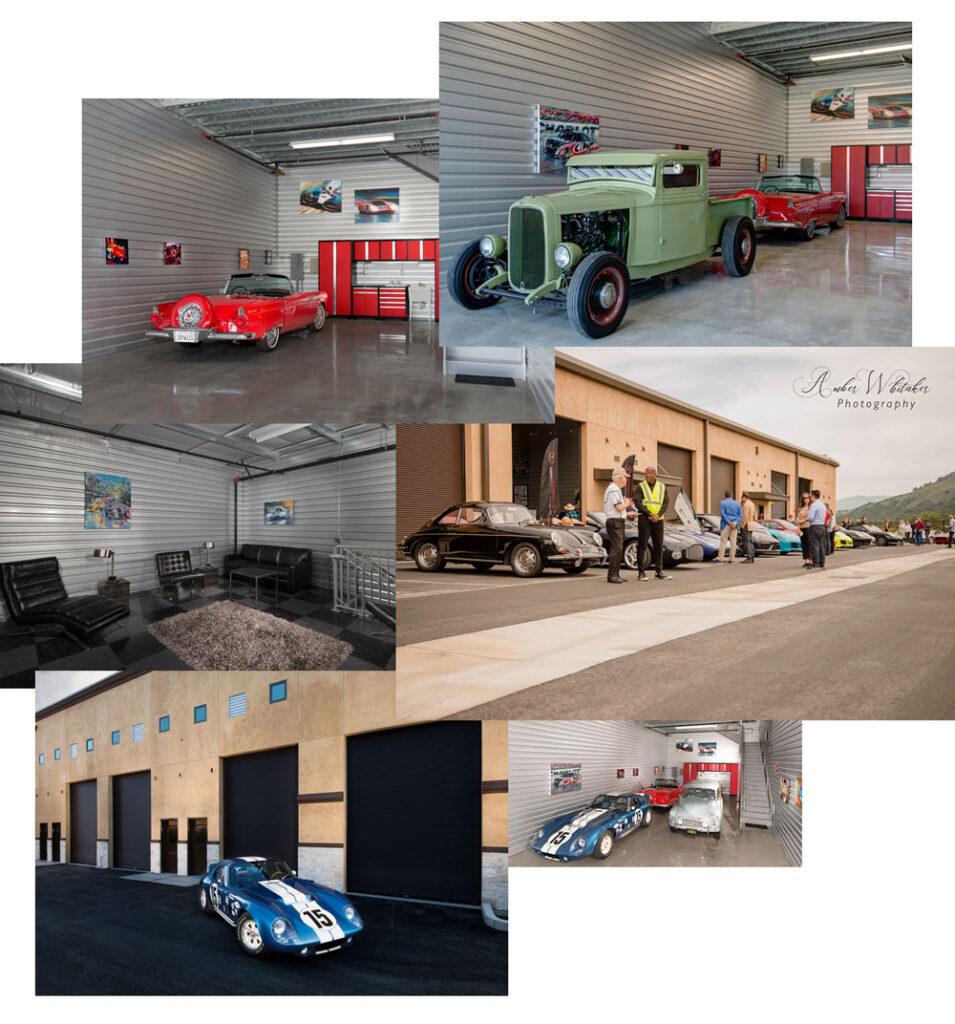 Custom Designed Interior of the garage car condo