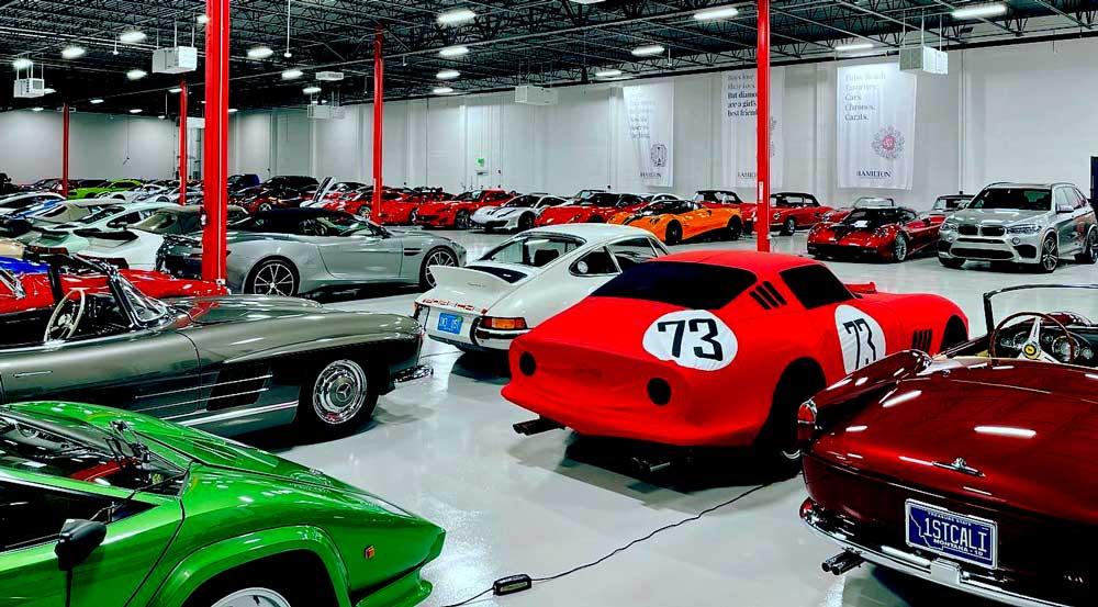 K2 Motorcars Car Club Inside