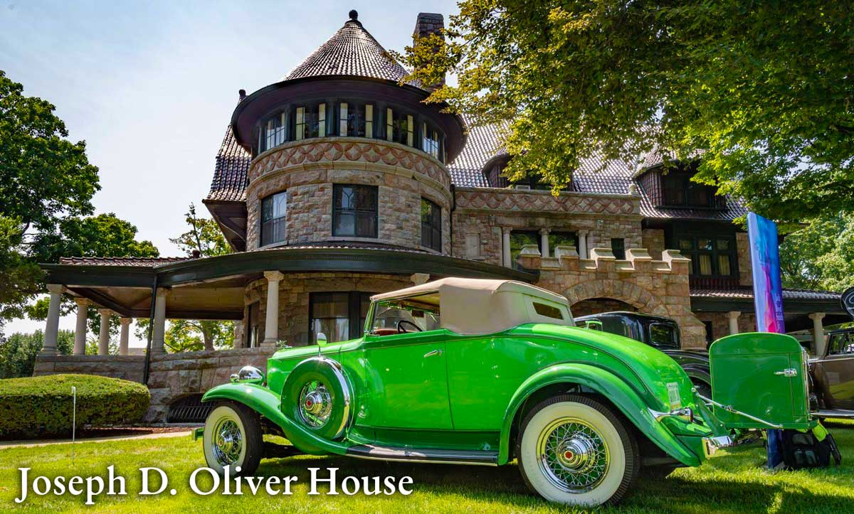 the Historic Joseph D. Oliver Estate