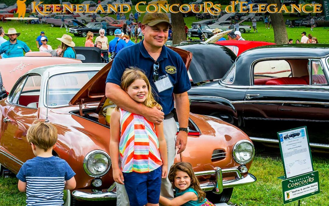 Keeneland Concours Featuring Corvette Marque in Lexington, KY July 17th, 2021