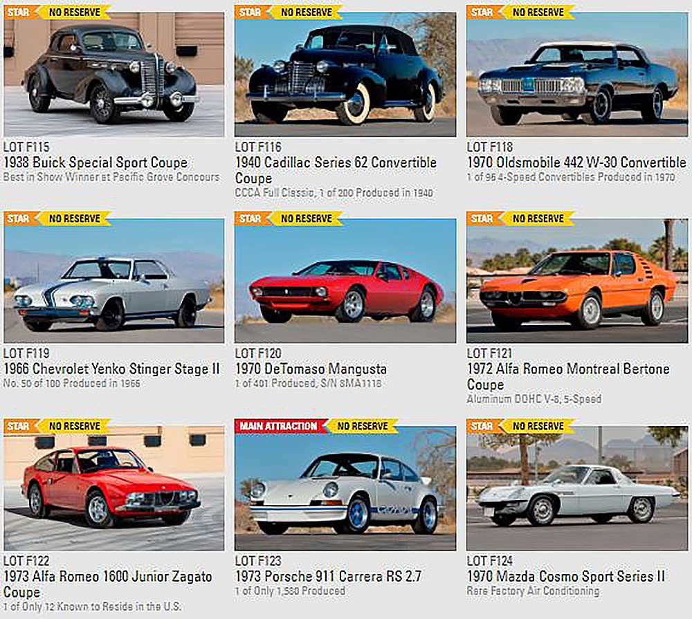 9 cars for sale