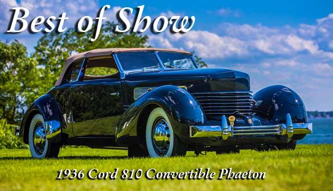1936 Cord 810 Convertible Phaeton Car
