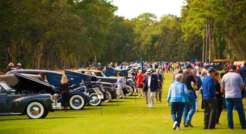 car show at The Annual 2021 Misselwood Concours d'Elegance car show takes place on the oceanfront lawn of the Misselwood Estate and will be featuring a host of Woodie Wagons, British Classics, Micro Cars, and vehicles from the Back to the Future Trilogy
