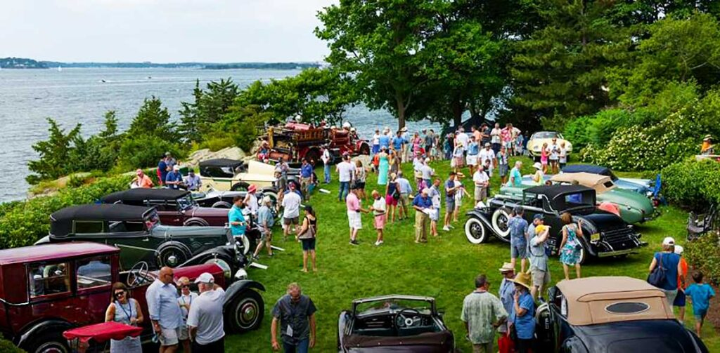 Oceanfront View from the Misselwood Concours dElegance