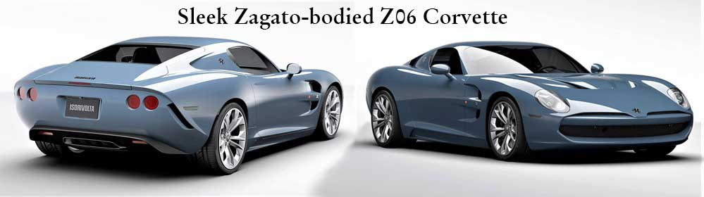 Sleek Zagato-bodied Z06 Corvettes GTZ