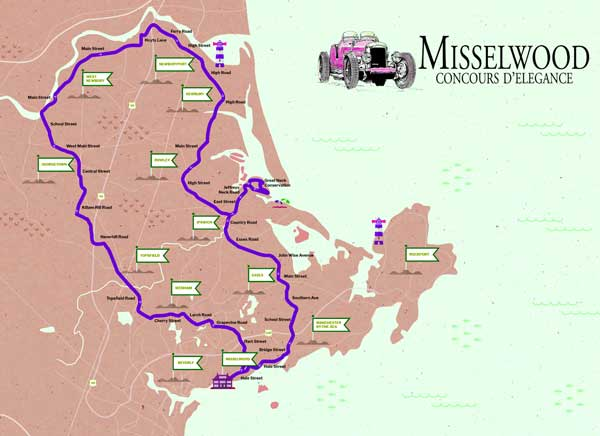 Misselwood Rally Map