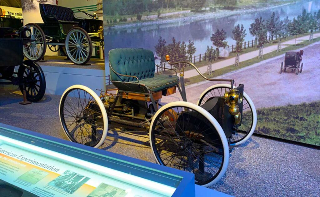 The 1896 Ford Quadricycle