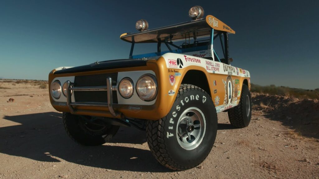 1969 Ford Bronco Baja 1000