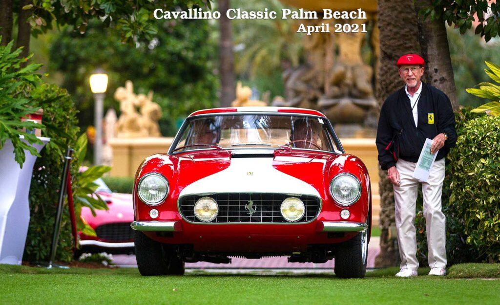 Ferrari at Car Show