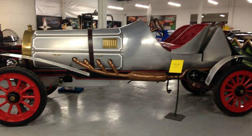 Chitty Chitty Bang Bang Race Car