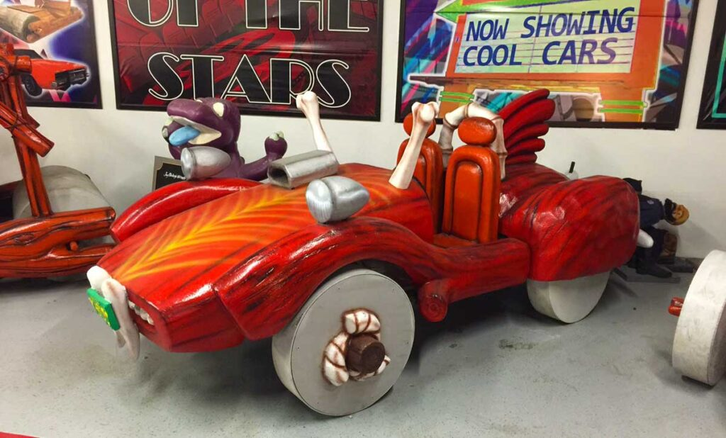 Fred Flintmobiles Car