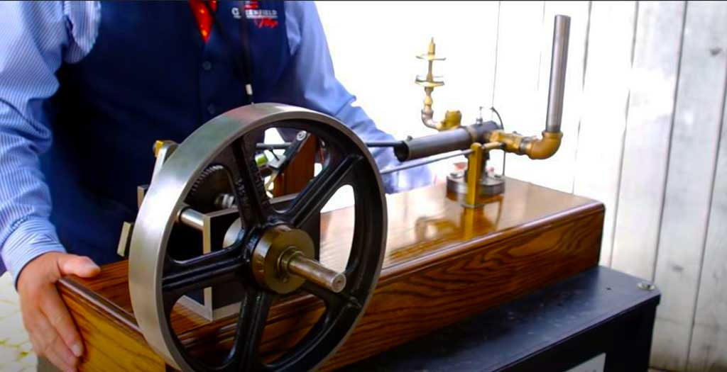 Henry Ford's first had fed gasoline engine
