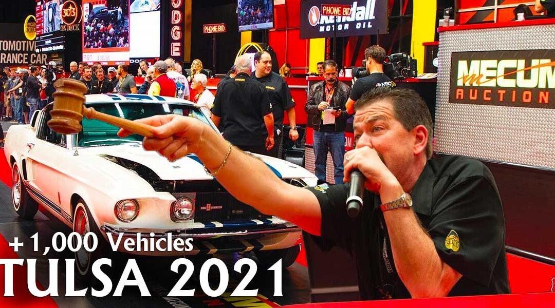 Mecum River Spirit Expo Auto Auction in Tulsa OK on June 10-12, 2021