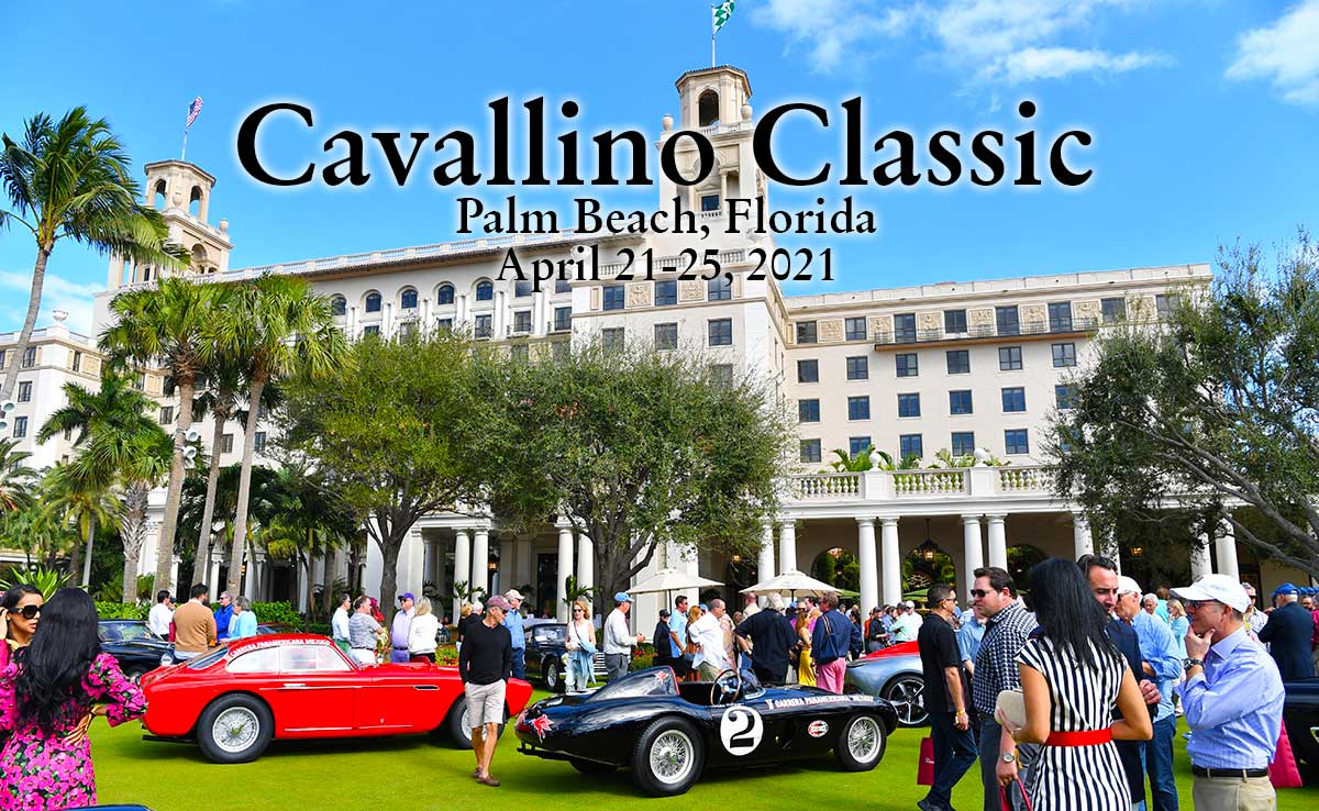 The breakers Hotel car show